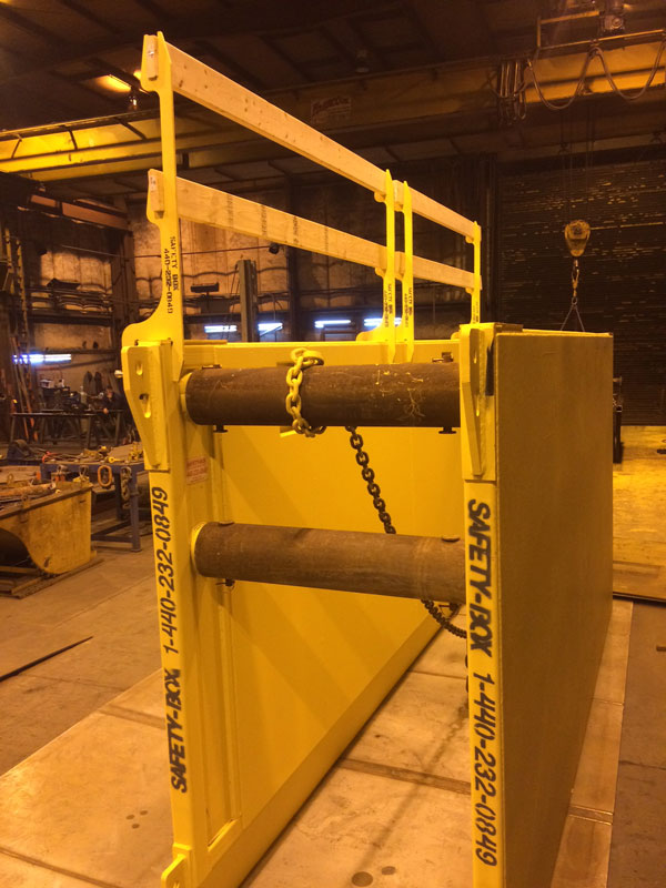 Safety Box Guard Rails Safety Box