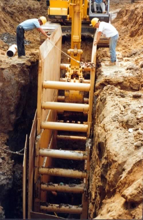 Original Safety Box Trench Shoring Protection System By